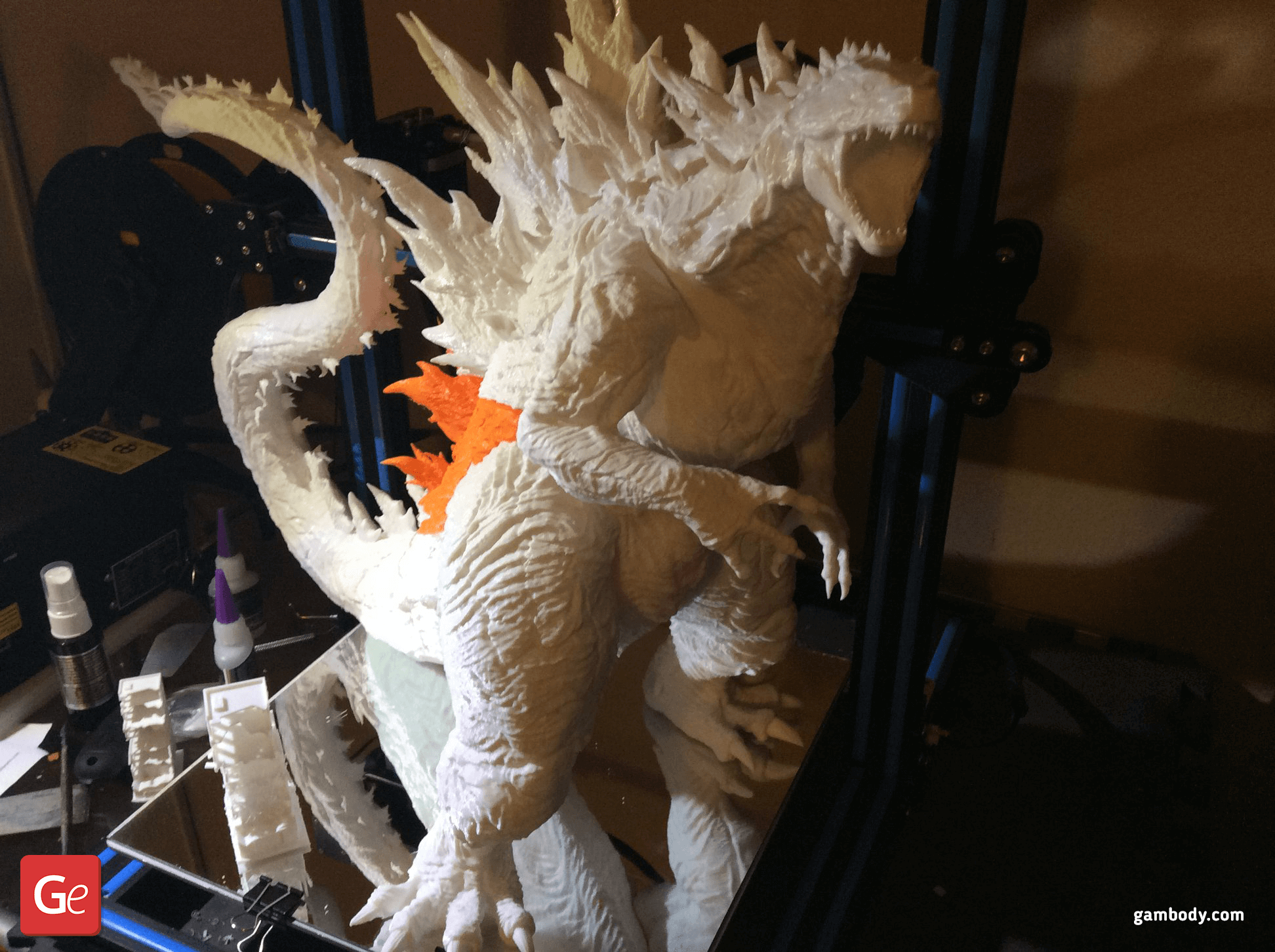 Godzilla 3D Printing Figurine