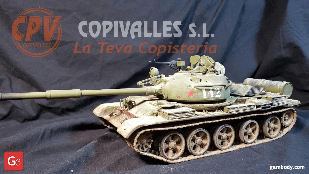 T-62 3D Printing Model 2