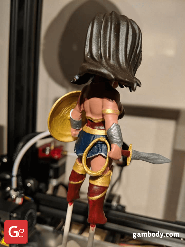 Chibi Wonder Woman 3D Printing Figurine