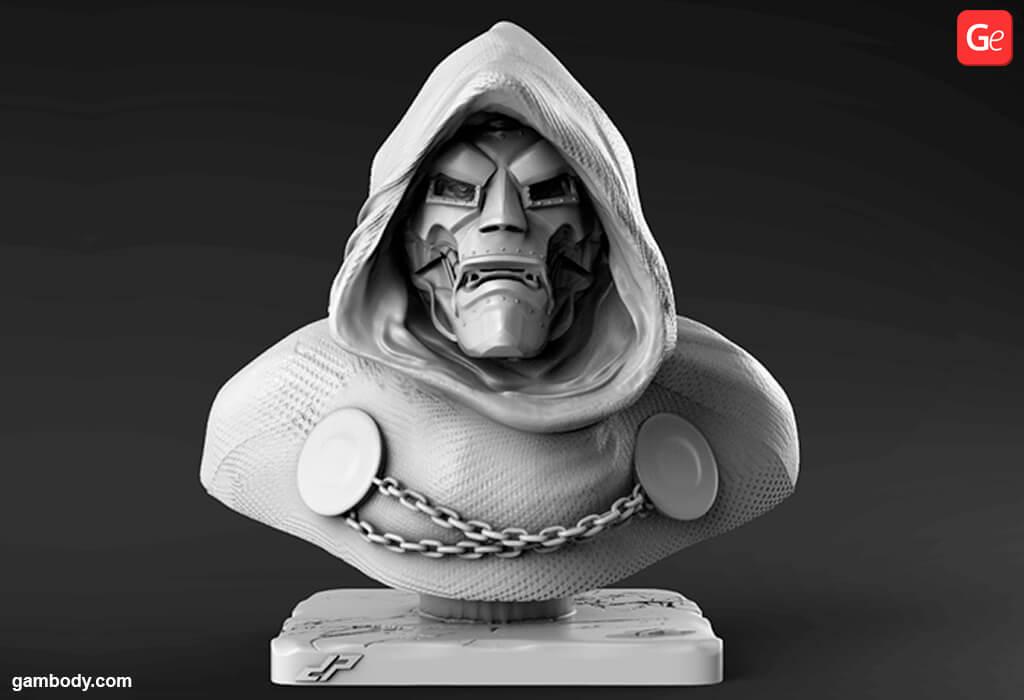 Dr Doom 3D print file