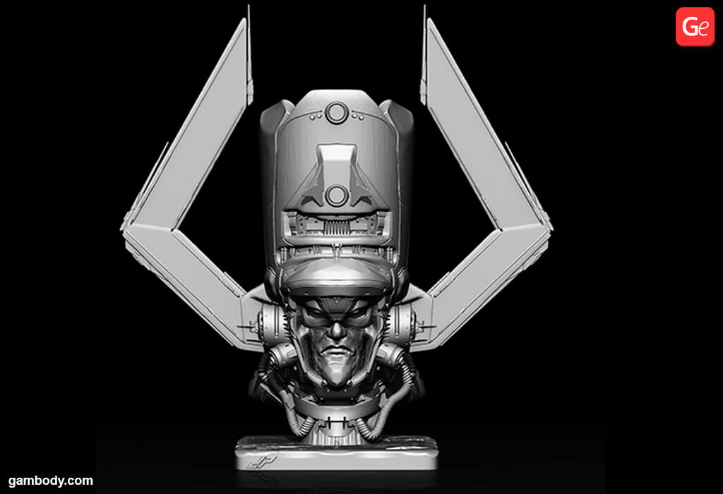 Galactus 3D model for 3D printing