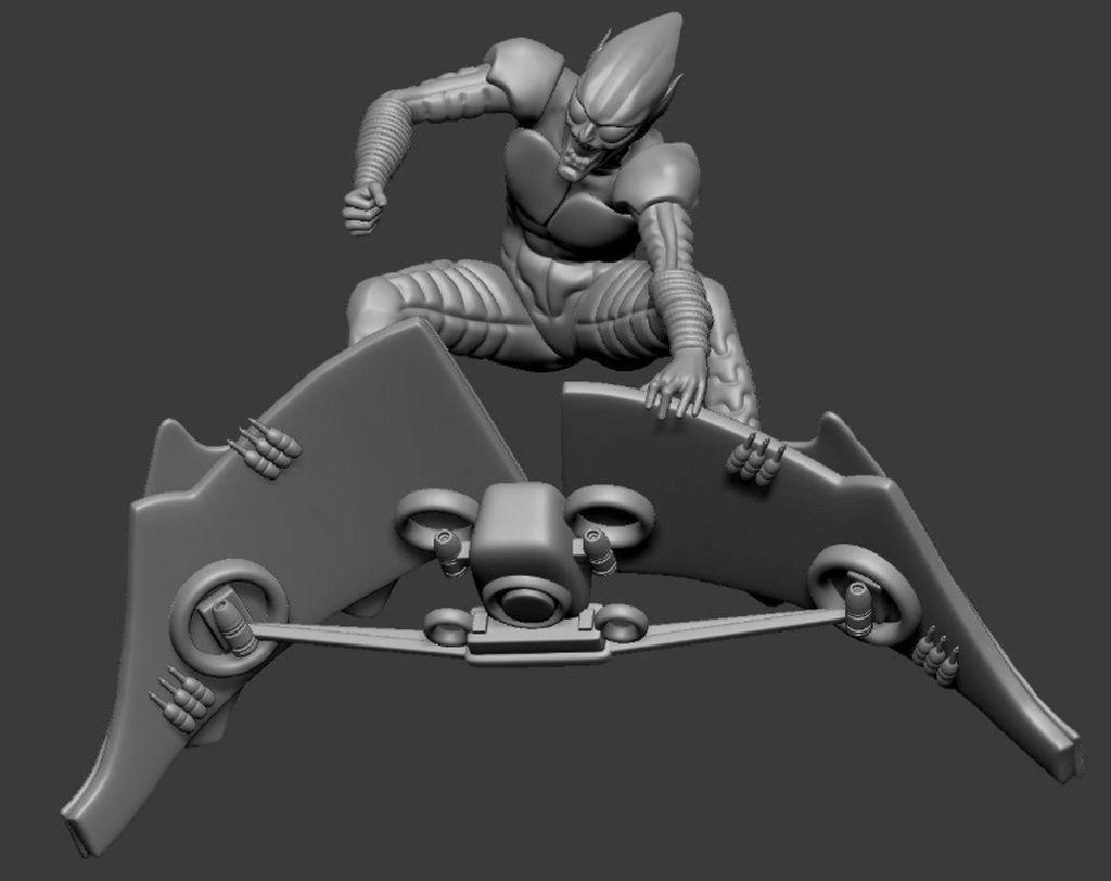 Green Goblin 3D model for 3D printing