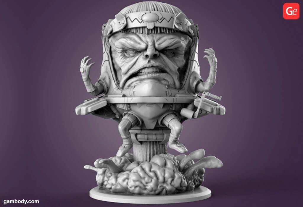 Modok Marvel villain 3D printing model