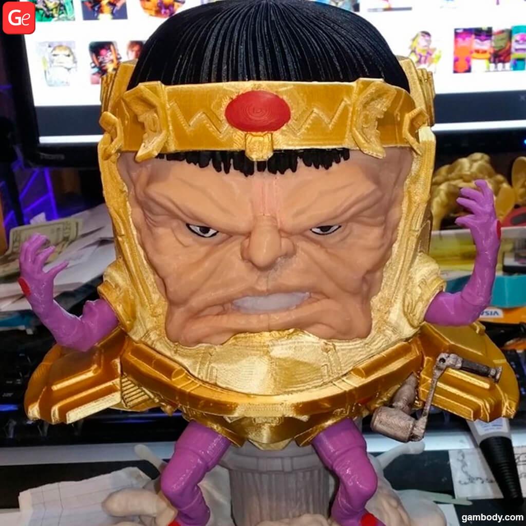 Modok villain 3D printed collectible figurine
