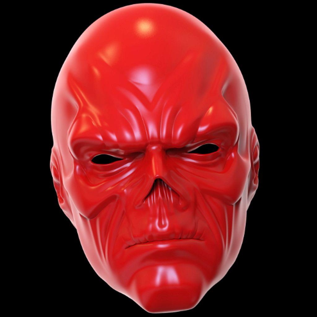 Red Skull mask 3D printing model