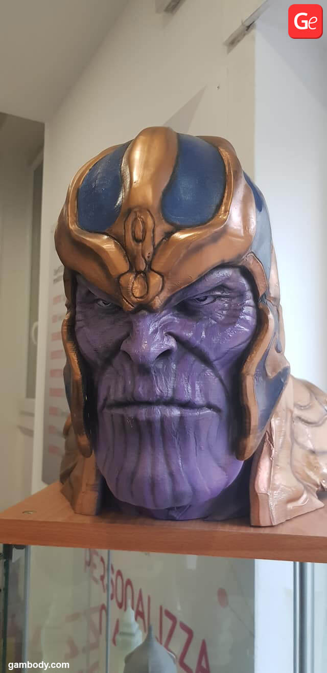 Thanos bust 3D print