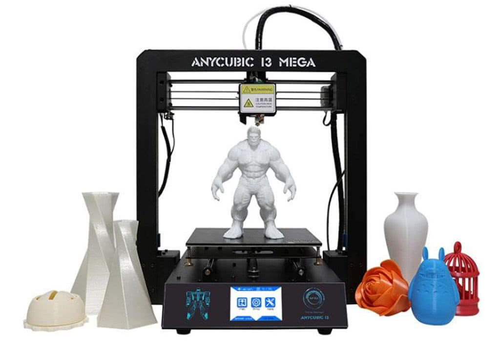 Anycubic I3 Mega 3D printer inexpensive 2019