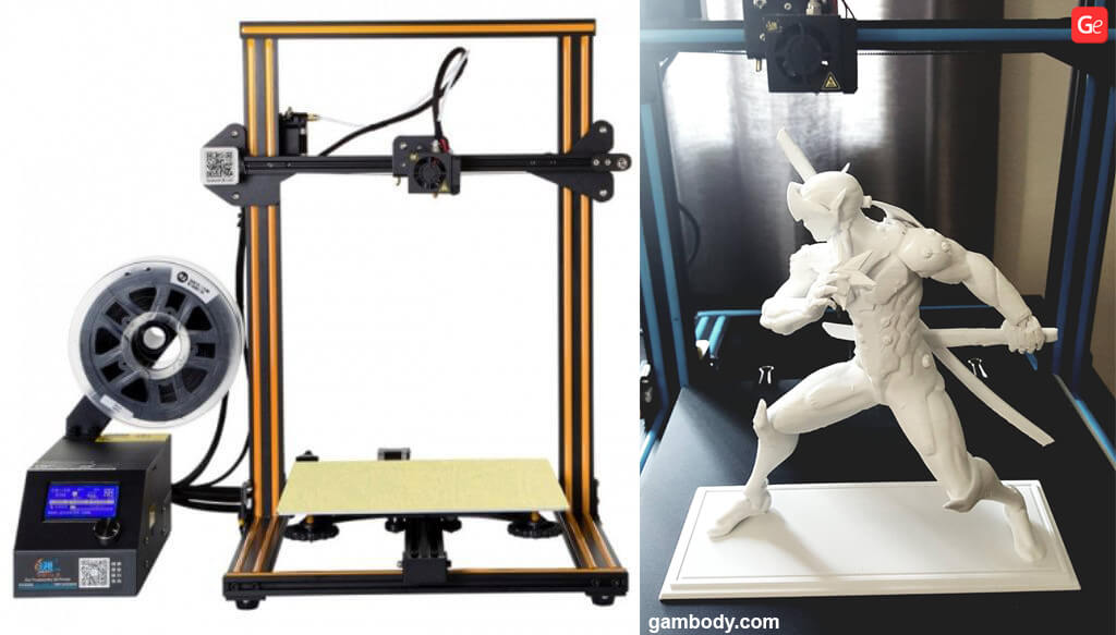 Popular 3D printer for beginners 2019 Creality CR-10