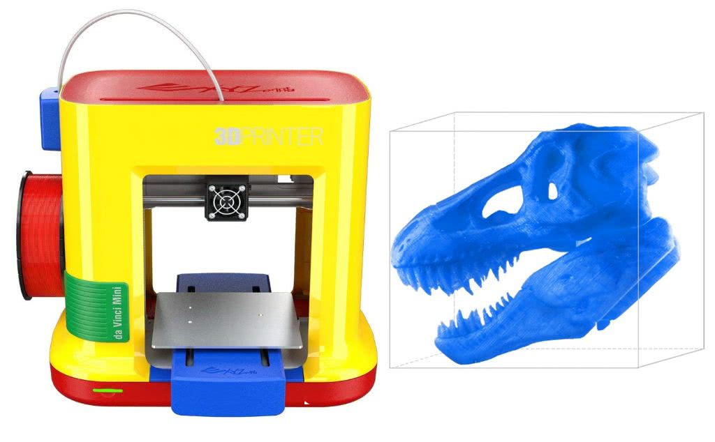 Da Vinci Mini Maker 3D printer for beginners in 2019
