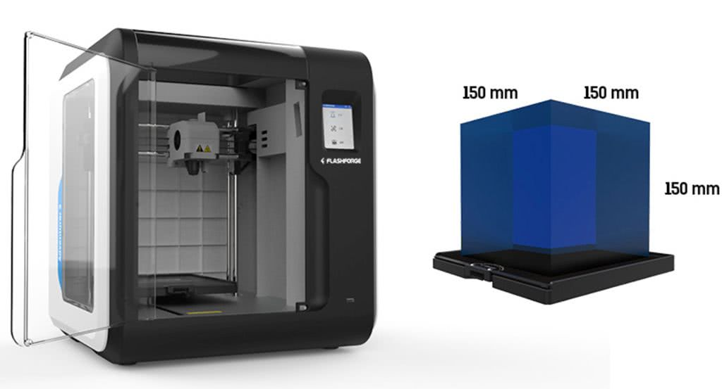 Inexpensive 3D printers for beginners Flashforge Adventurer 3
