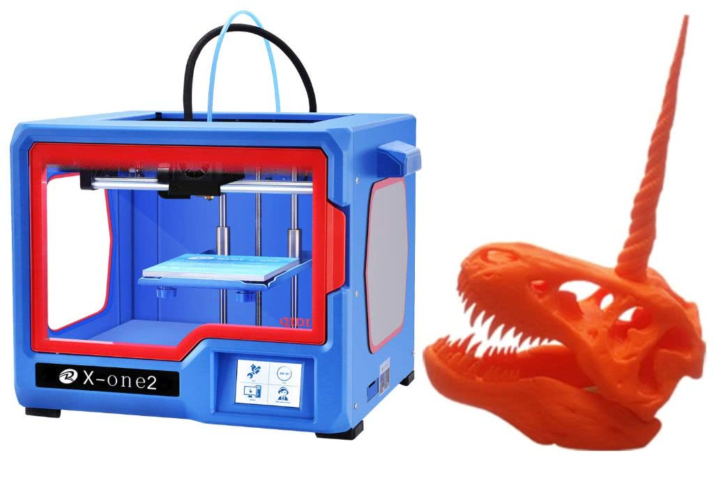 Affordable 3D printer Qidi Technology X-one 2