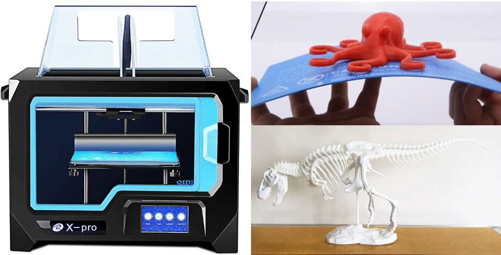 Affordable 3D printer for beginners Qidi Tech X-Pro