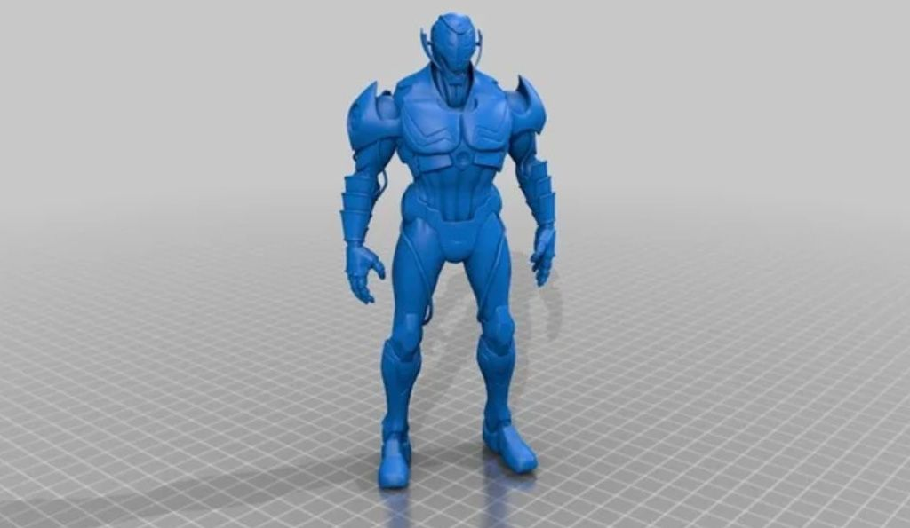 Ultron 3D model for 3D printing