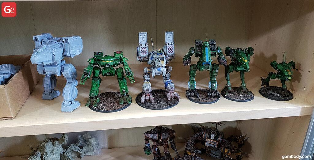 Battletech \ Mechwarrior models