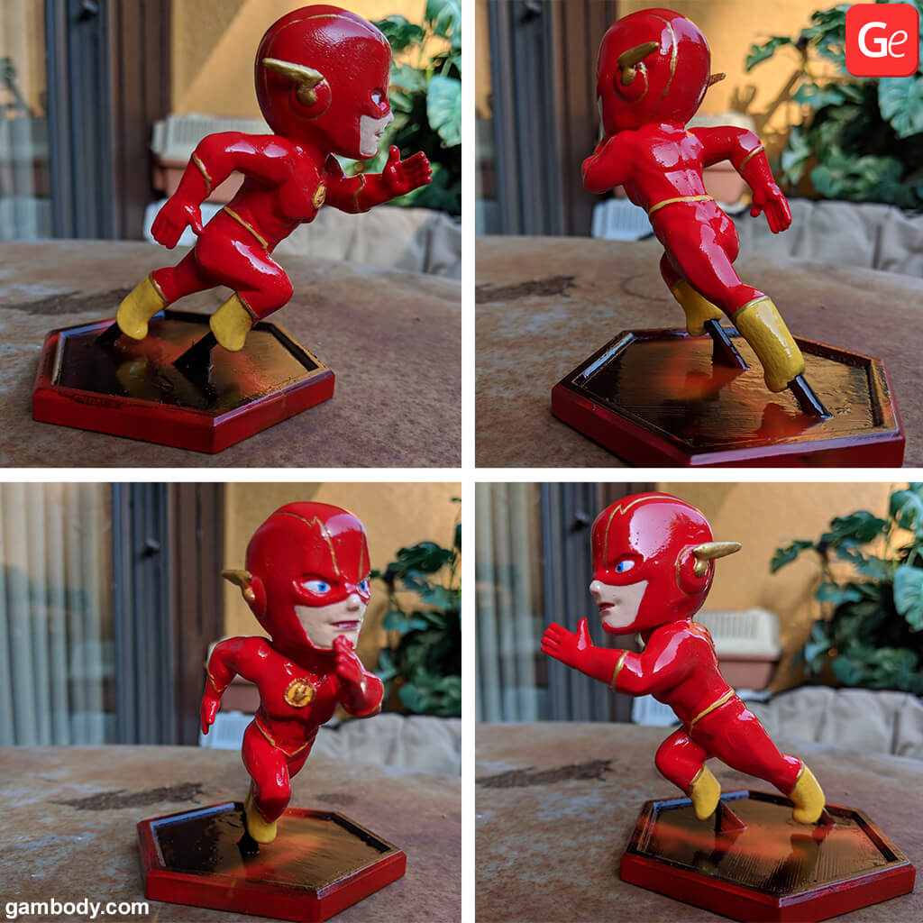Chibi Flash STL
