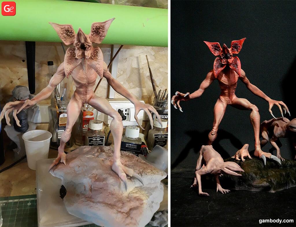Best Halloween 3D prints Demogorgons