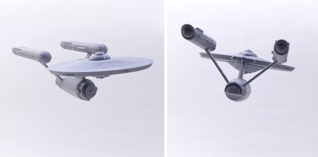 Enterprise-NX-01 Star Trek 3D printing model