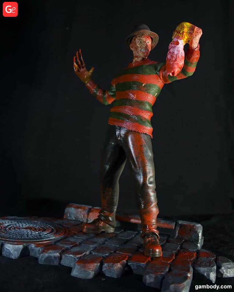 Freddy Krueger art