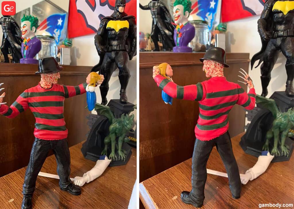 Freddy Krueger model 3D