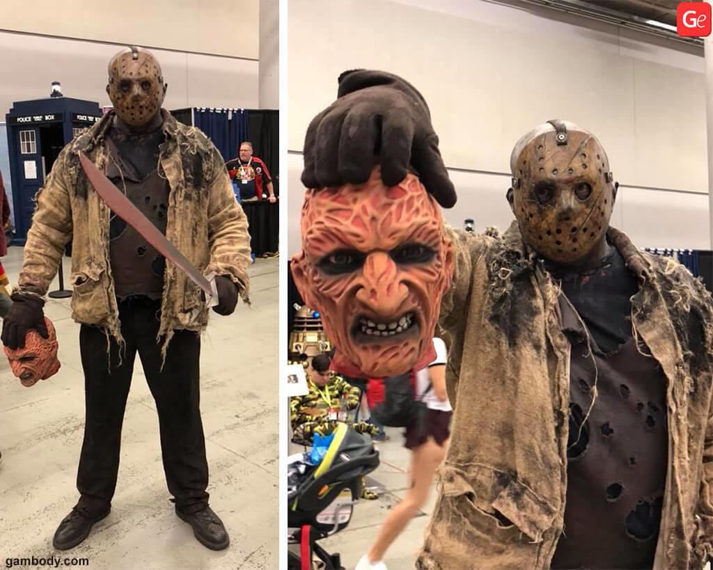 Freddy Krueger costume DIY cosplay