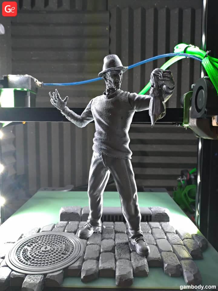 Freddy Krueger figure