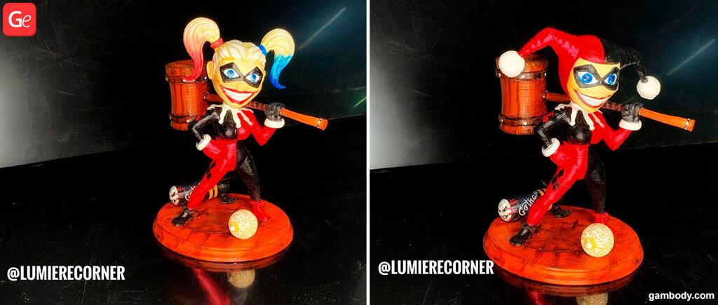 Harley Quinn 3D print