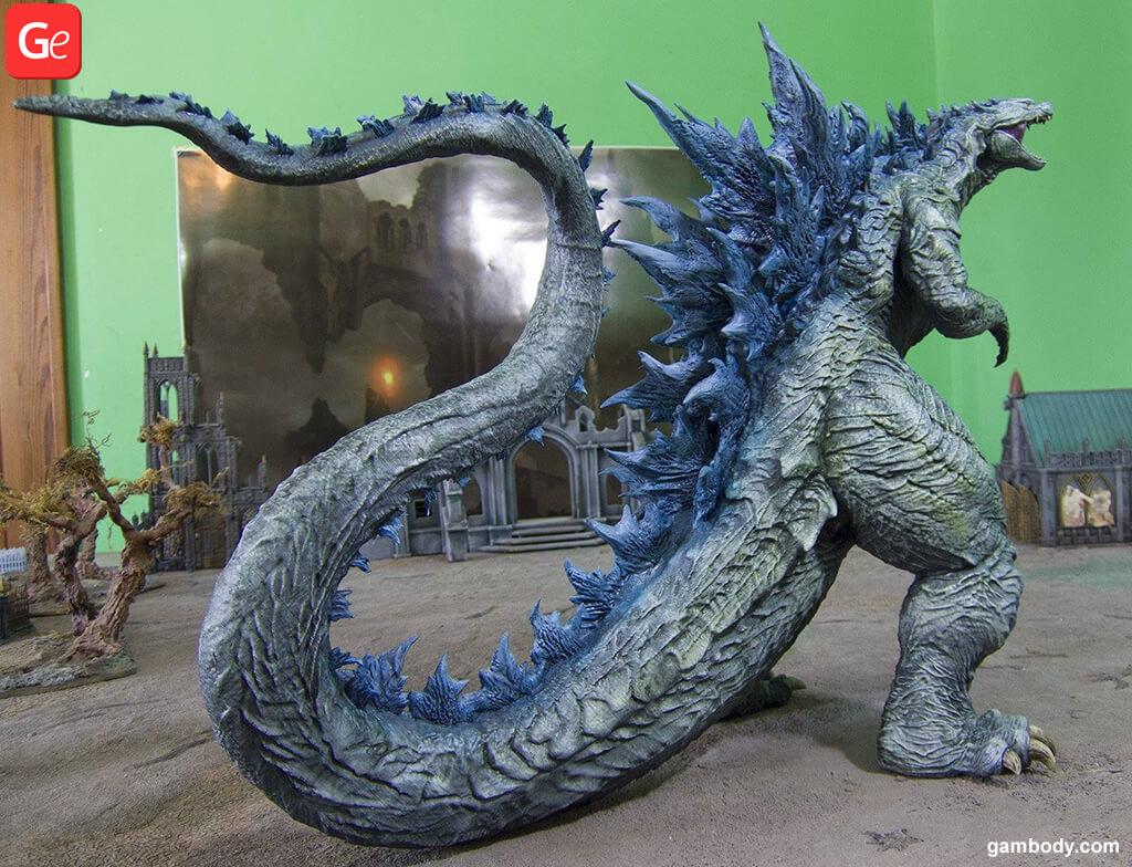 Hybrid Godzilla figure