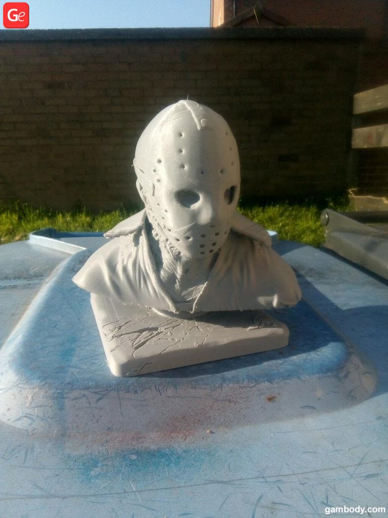 Jason Voorhees head bust