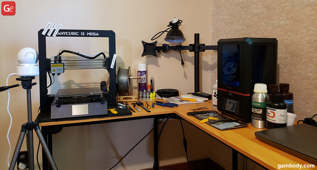 Anycubic Photon and Anycubic I3 Mega 3D printers
