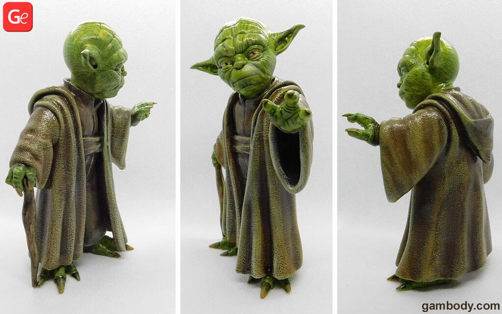 Master Yoda 3D printing gifts