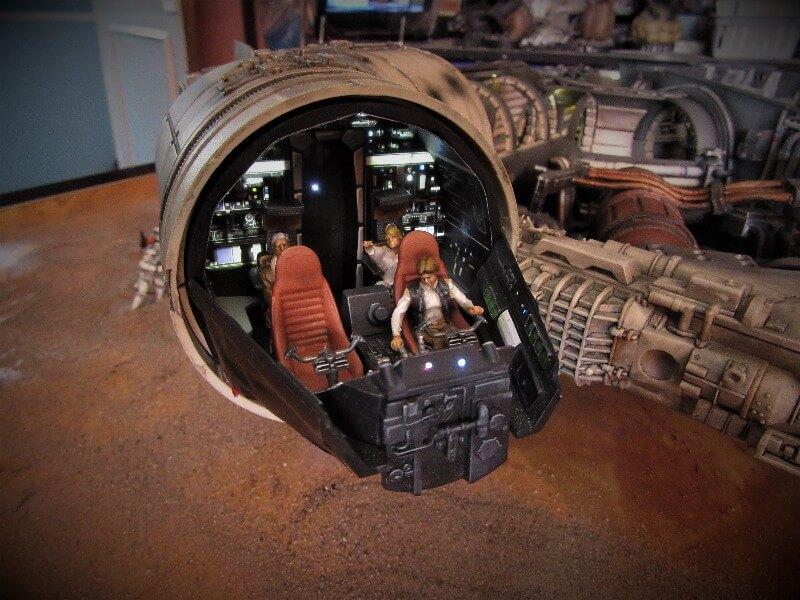 Millennium Falcon cockpit build