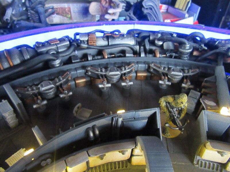 Star Wars starship model kit