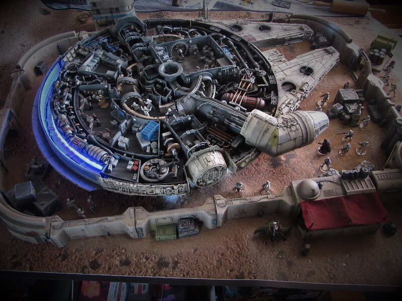 Star Wars ship model kits