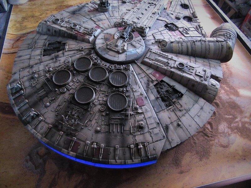 Star Wars ship model by DeAgostini