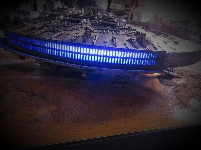 Millennium Falcon lighting kit