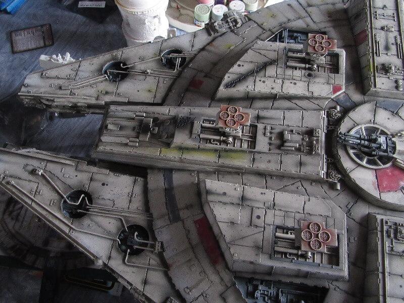 Star Wars DeAgostini starship model