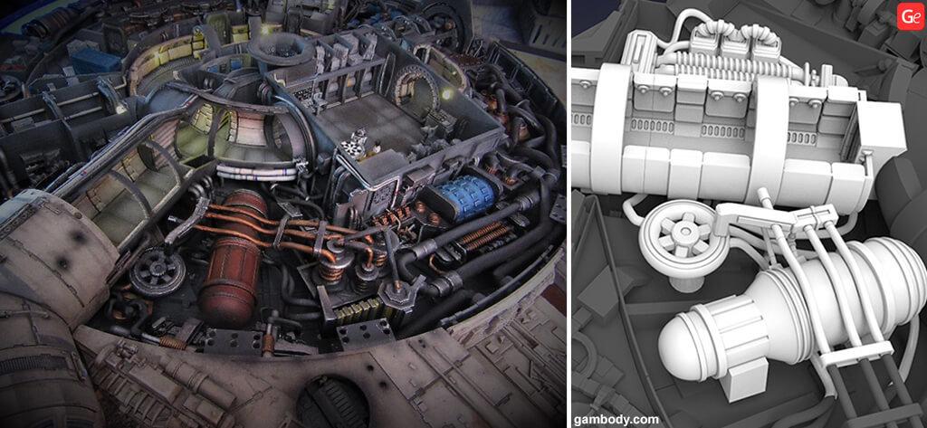 Falcon Millennium engine