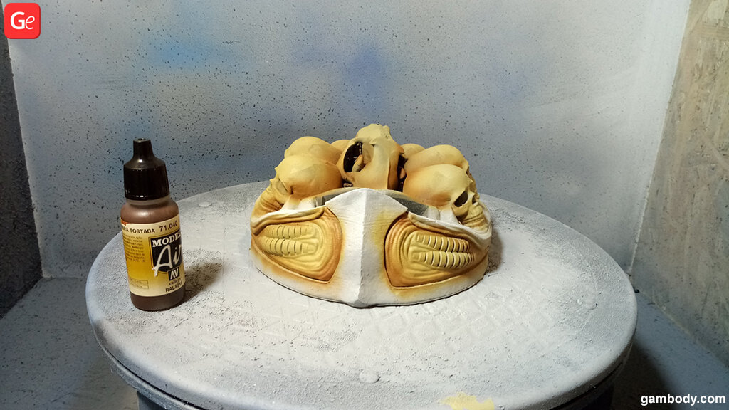 3D figure painting