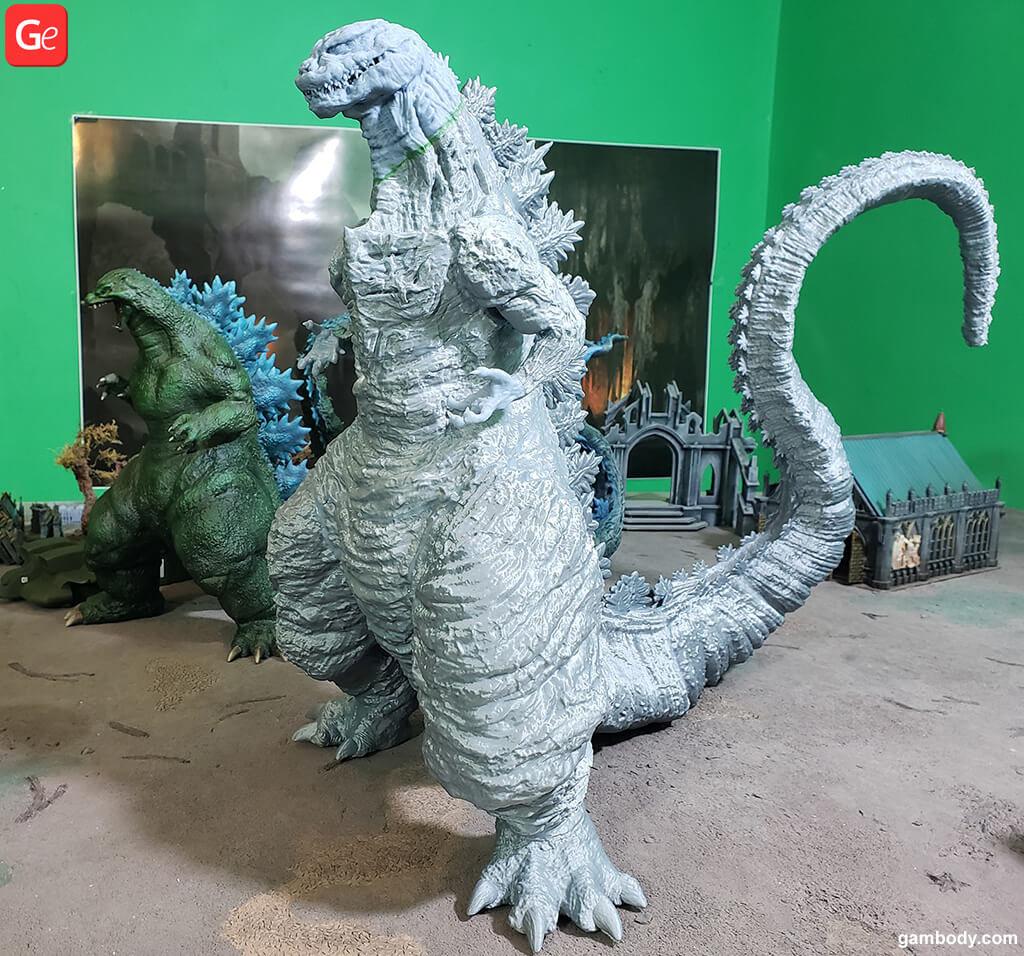 Godzilla 3D model