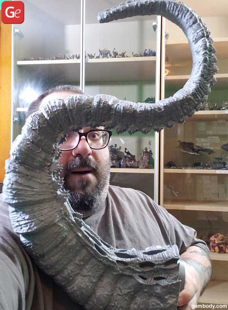 Shin Godzilla tail model