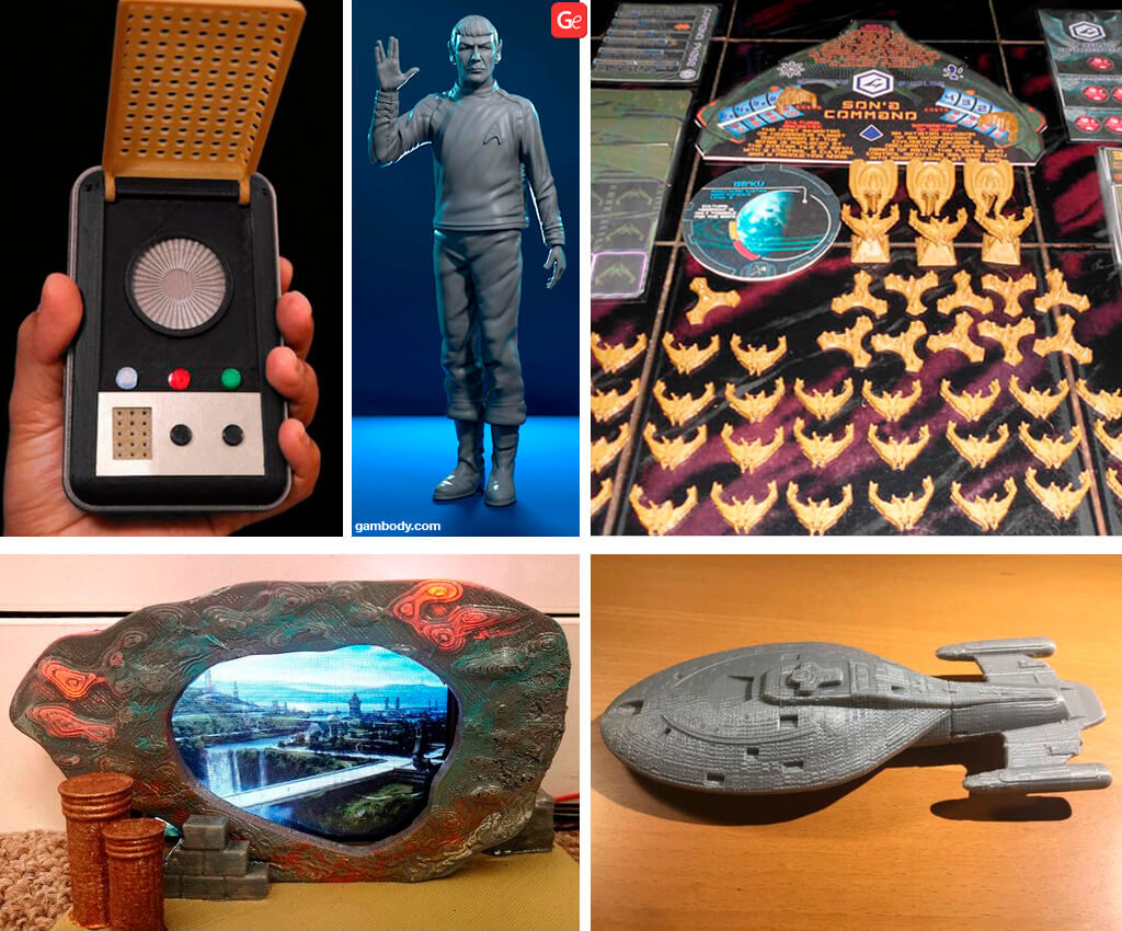 Star Trek 3D models download for 3D printing