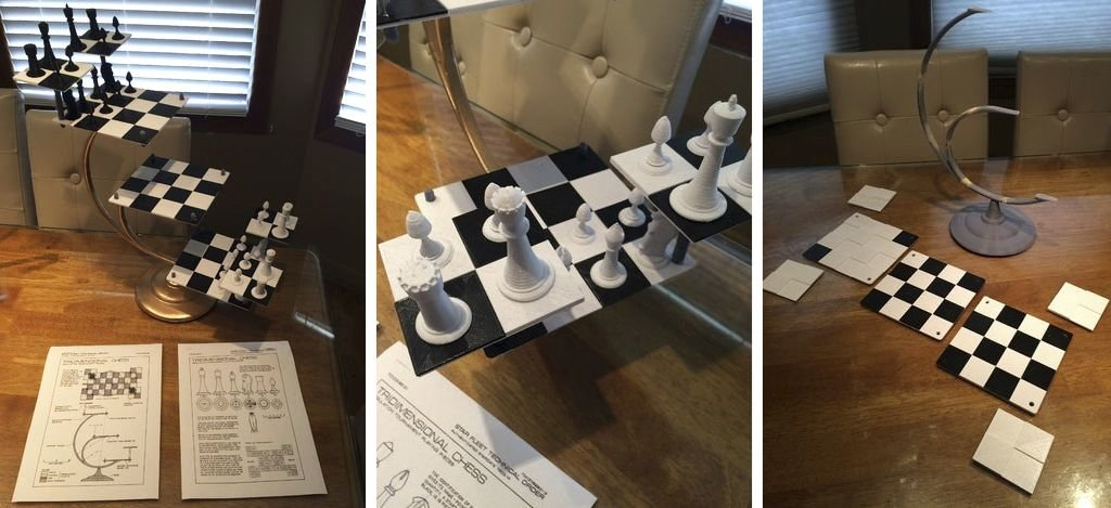 Star Trek Tri-Dimensional Chess 3D Model