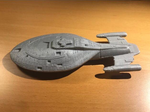 Star Trek Voyager 3D print
