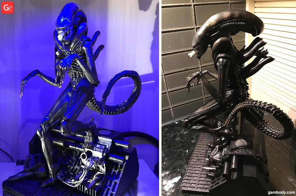 3D printed Alien Xenomorph
