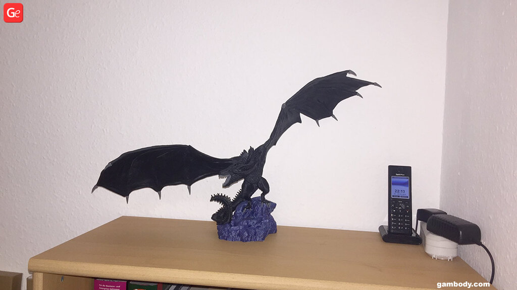 Dragon Game of Thrones 3D model for printing