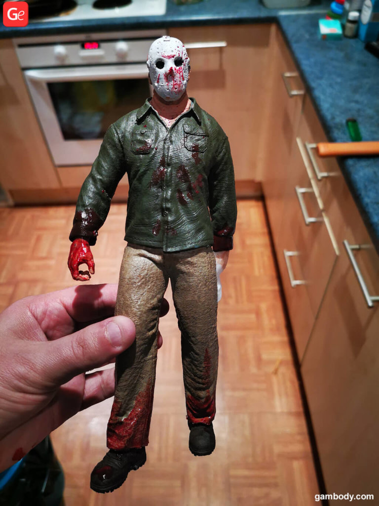Jason Voorhees 3D model printed