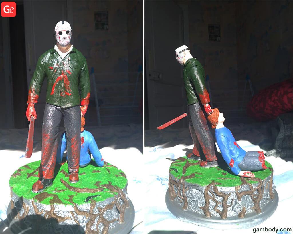 Jason Voorhees horror movie 3D print