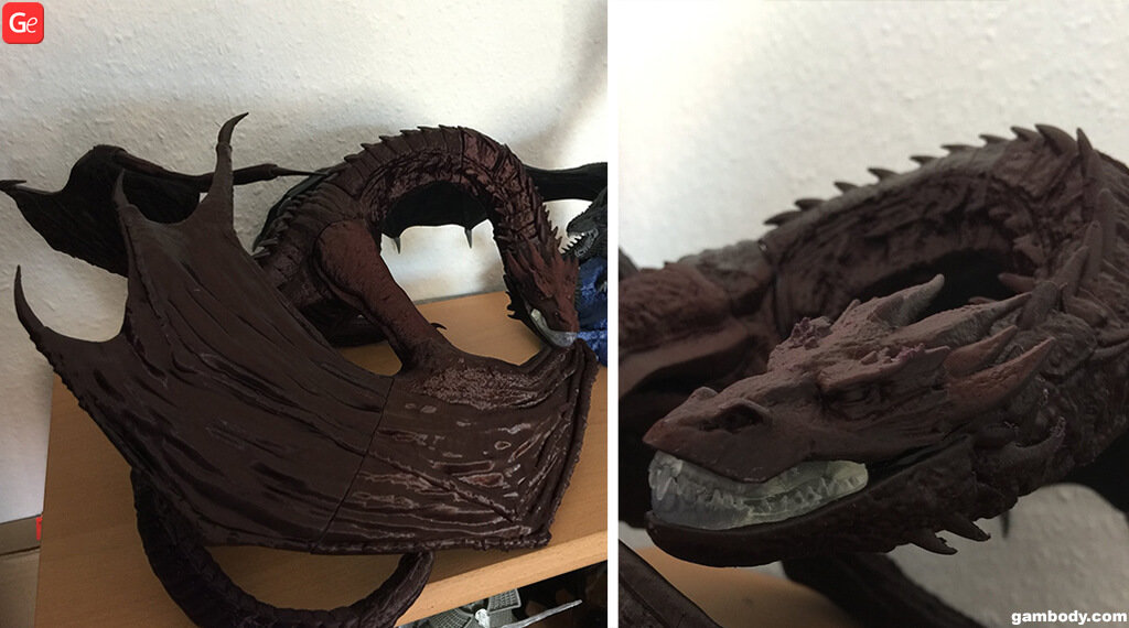 Smaug dragon 3D printing model