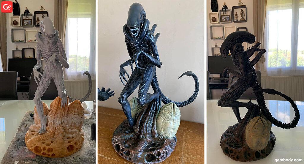 Alien Xenomorph model
