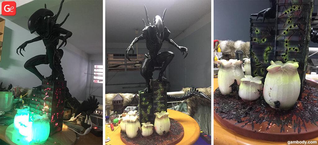 Alien Xenomorph figurine